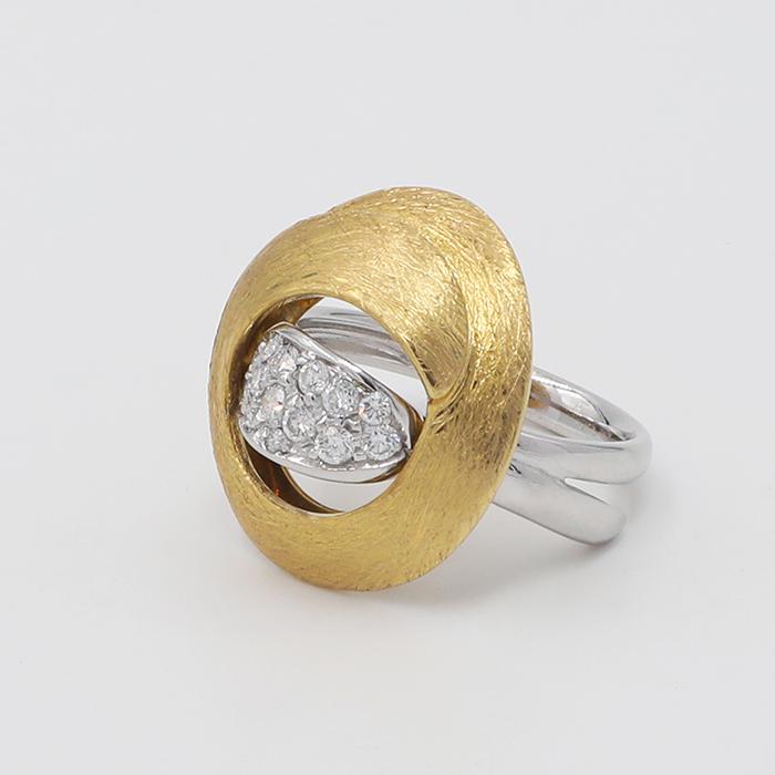 anello oro e diamanti Ferrara
